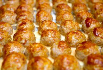 Turkey Meatballs - Bulk